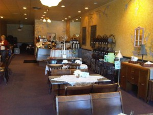 Specialty coffees and teas at locally-owned Brielle's Coffee & Tea Room in Independence, Ohio