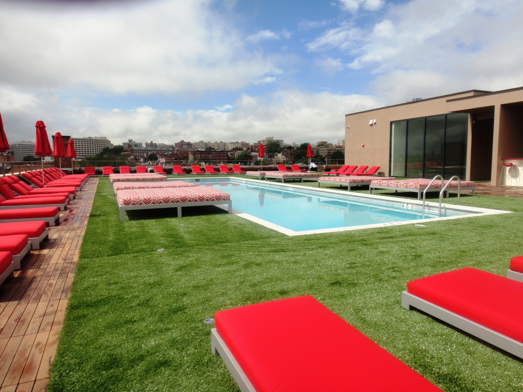Silca System Rooftop Pool Deck