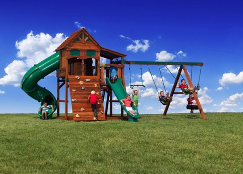 backyard adventures of middle tennessee brings high quality playground