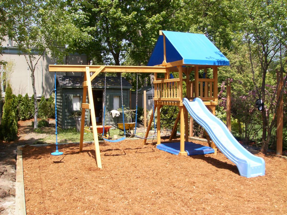 Custom Backyard Play Structures : Play Structures in and around Seattle