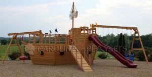 Find Play Mor Boat Playsets at Carolina Playsets in North ...