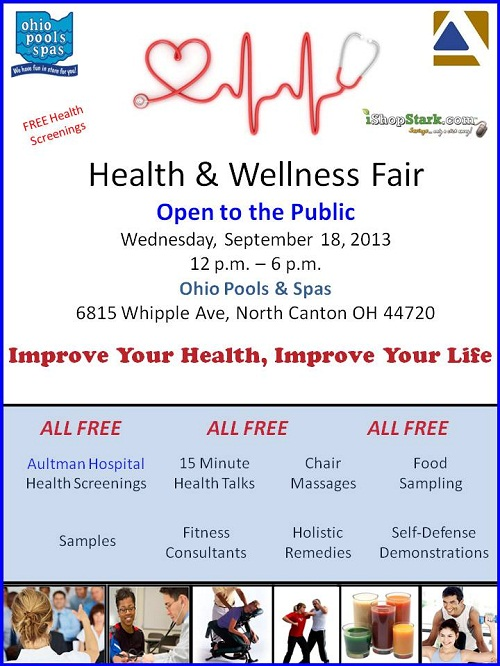 Corporate chair massage flyer - Blood Pressure Screening Flyer Free Health Screenings At