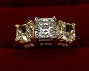 Ornate Georgian Antique Diamond Ring