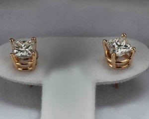 Where to buy Princess cut Diamond Earrings in Canton Ohio