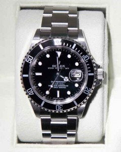 gents stainless rolex submariner