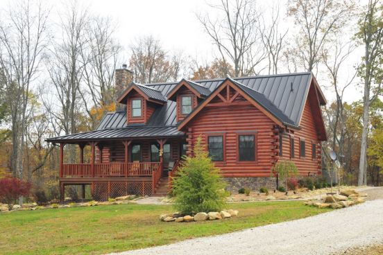 Log Home Construction Fairview Log Homes In Richland County Ohio I Shop