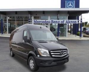 Sprinter 4x4 cargo vans mercedes benz of akron in for Mercedes benz akron