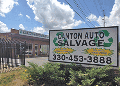 Canton Auto Salvage_Sign