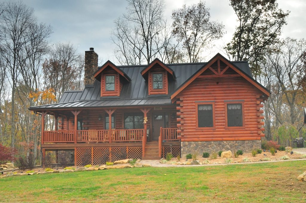 Fairview log homes ohio based custom home builder i for Fairview custom homes