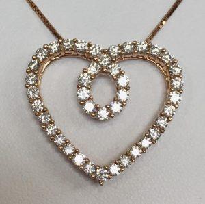 heart pendants sam 39 s jewelry emporium for hermitage